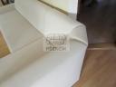 Atypický zkosený roh vzadu sedací soupravy na míru - 131