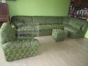 Velká zelená rohová sedačka na zakázku-112