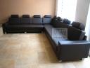 Luxusní české rohové kožené sedací soupravy - 49