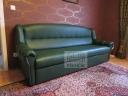 Kožené sedací soupravy klasického vzhledu na míru-78