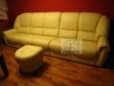 Luxusní veliká kožená sedací souprava- 64