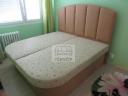 Kožená postel s úložným prostorem - 28