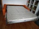 Rozkládací pohovka s úložným prostorem na časté spaní - 8